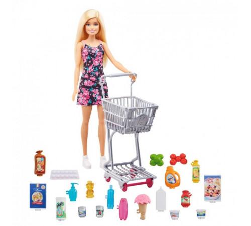 """barbie gtk94 Игровой набор с куклой """"Продуктовая лавка"""""""
