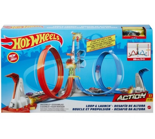 """hot wheels grw39 Трек """"Прыжок победителя"""""""