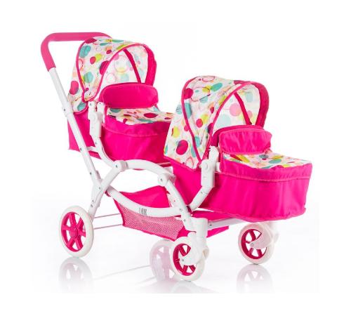 chipolino коляска для куклы nia kzkn01701ra