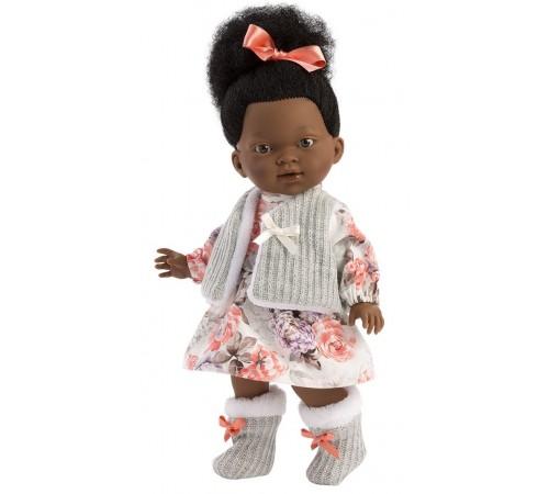 """Детскиймагазин в Кишиневе в Молдове llorens Кукла """"zoe african"""" 28033 (28 см.)"""
