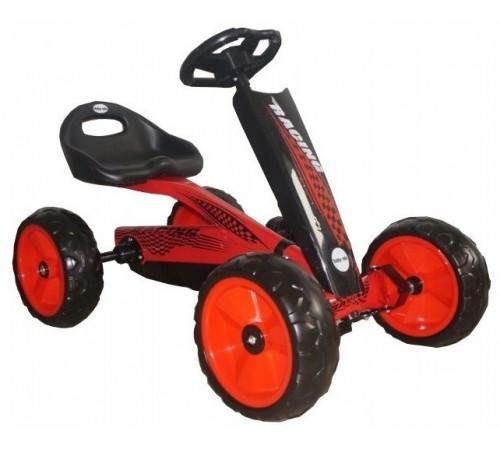 baby mix ur-etk01-1 Машина на педалях красный