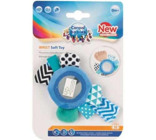 canpol 68/056 Мягкая игрушка на руку с зеркалом (голубой)