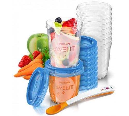 Детское питание в Молдове avent scf721/20 Контейнеры для хранения продуктов (20 шт.)