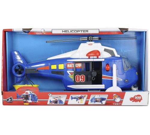 """dickie 3308356 elicopter """"serviciu de salvare"""" cu lumină și sunet"""