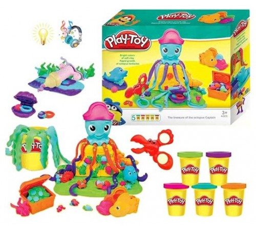 "op РЕ04.143 set de plastilina ""play-toy"""