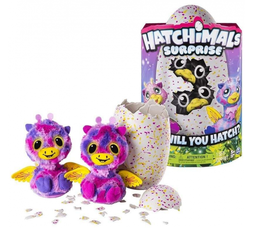 Детскиймагазин в Кишиневе в Молдове hatchimals 6041889 Интерактивная игрушка spin master surprise