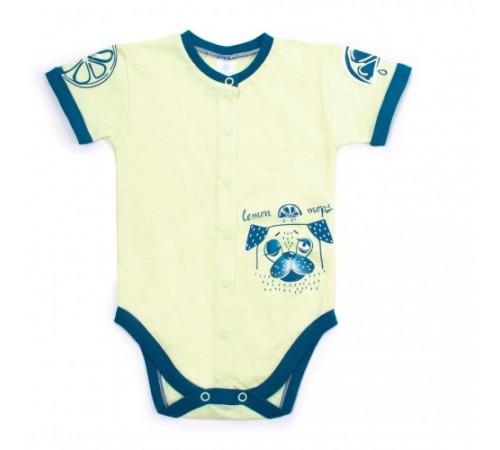 Одежда для малышей в Молдове veres 102-1.76.68 Боди короткий рукав lemon doggy  р.68
