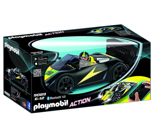 """playmobil 9089 Игровой набор """"Радиоуправляемый Турбо-гонщик"""""""