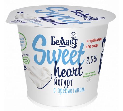 """Беллакт iaurt cu prebiotic """"sweet heart"""" 3,5% (130 gr.)"""