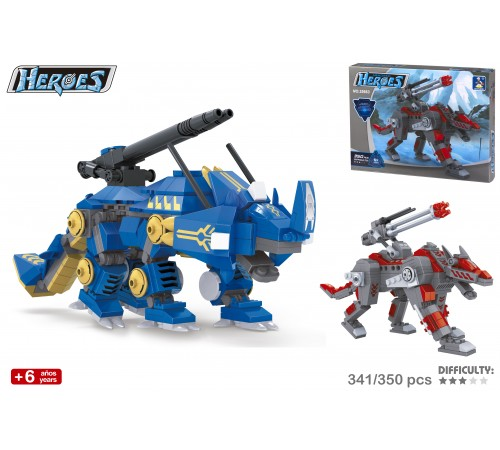 color baby 42834 Конструктор Робот в ассортименте