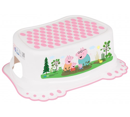 "tega baby suport pentru picioare ""peppa pig"" fa-006-103-r roz"