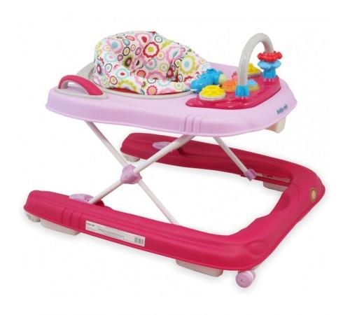 baby mix bg-0416 Ходунки 2-в-1 розовый
