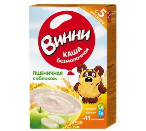 Винни Каша безмолочная Пшеничная с яблоком и пребиотиками (5 m+) 200 gr.