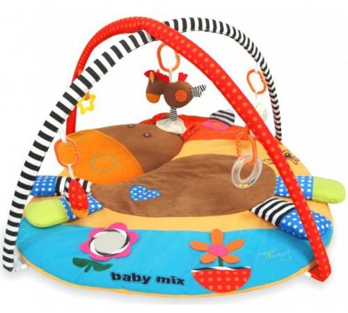 """Игрушки в Молдове baby mix tk/3337cn Игровой развивающий коврик """"Лошадка"""""""
