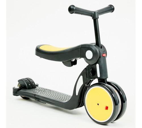 chipolino Самокат 4-в-1 dsar02003ye желтый
