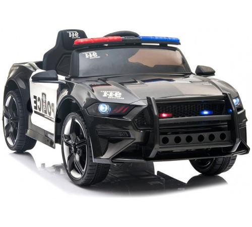 "chipolino Машина на аккумуляторе ""police"" elkpoln01b чёрный"