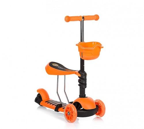 chipolino Самокат kiddy dski01704or оранжевый