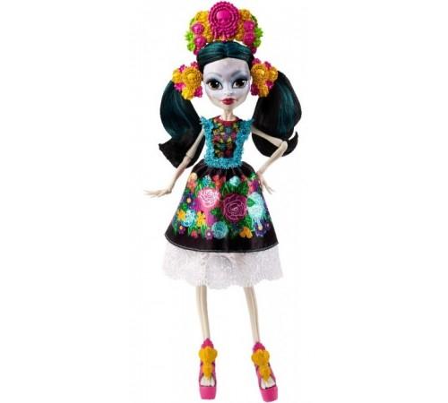 monster high dph48 kукла Скелита Калаверас