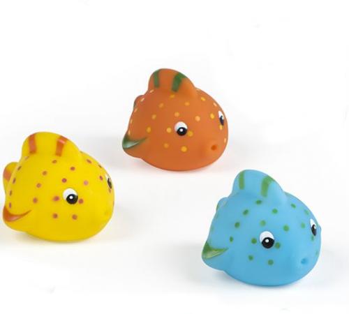 """color baby 24632 Игрушка для купания  """"Рыбки"""" 3 шт"""