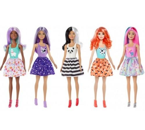 "barbie gmt48 Кукла-Сюрприз ""Яркое превращение"" в асc."