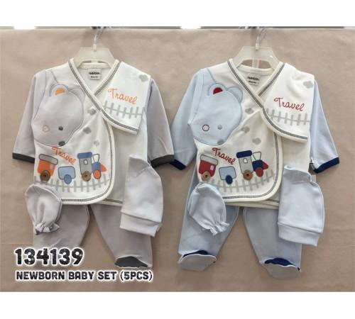 Одежда для малышей в Молдове twetoon baby 134139 Набор из 5 единиц для новорожденных