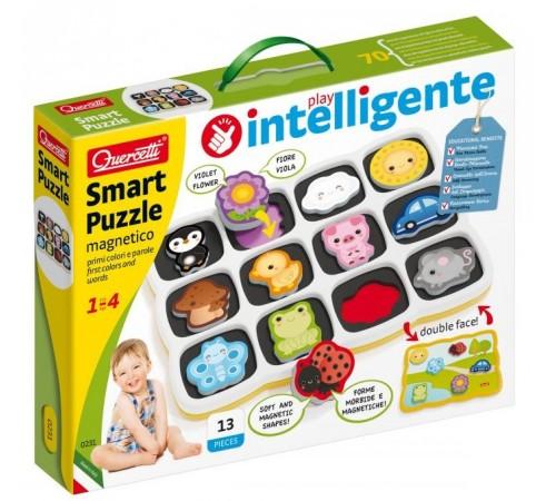 """quercetti  0231 smart Двусторонние магнитные пазлы """"smart"""""""