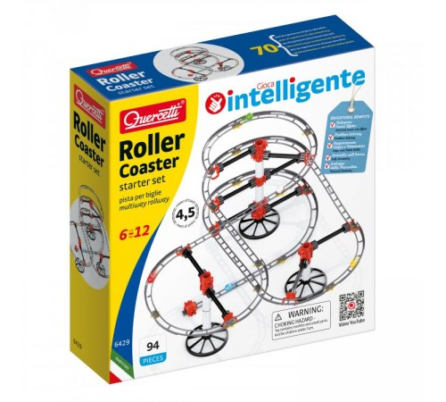 "quercetti 6429 Трек ""roller coaster"""