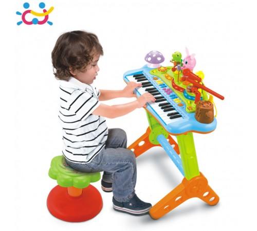 Детскиймагазин в Кишиневе в Молдове huile toys 669 Пианино  интерактивный