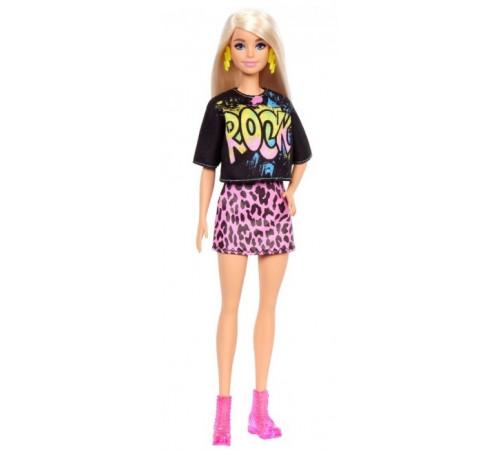 """barbie grb47 Кукла Барби """"Модница"""" в стильной рок-футболке"""