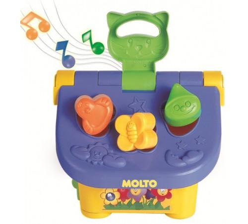 """molto 5221 Музыкальная игрушка-сортер """"Домик"""""""