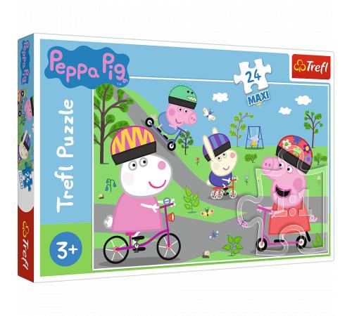 """Jucării pentru Copii - Magazin Online de Jucării ieftine in Chisinau Baby-Boom in Moldova trefl 14330 puzzle """"ziua activă a lui peppa pig"""" (24 el.)"""