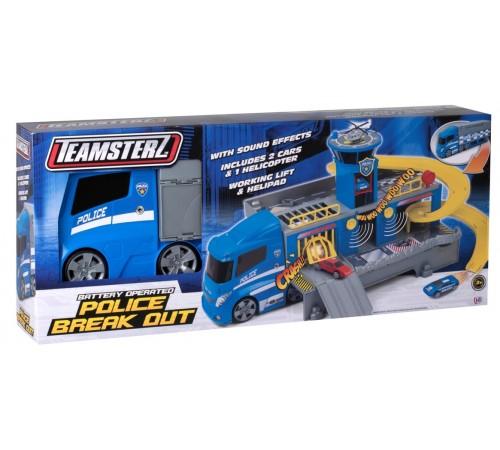 """teamsterz 1416389 Игровой набор """"Полицейский грузовик"""""""