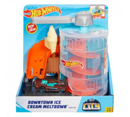 """hot wheels gjk74 Игровой набор """"Приключения в магазине мороженого"""""""