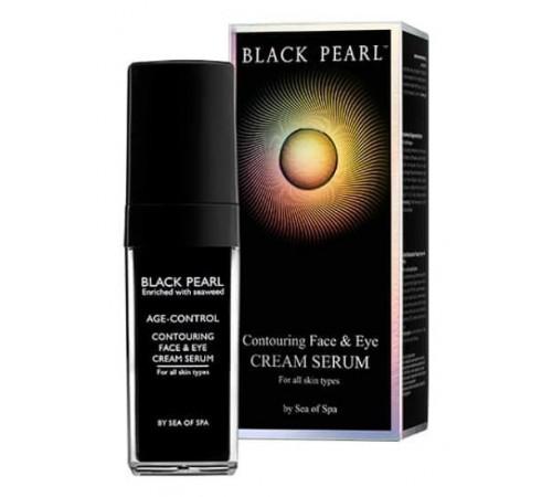 black pearl Антивозрастной крем-серум для лица и кожи вокруг глаз (30 мл.) 761798