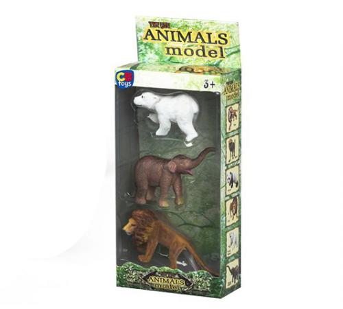 Jucării pentru Copii - Magazin Online de Jucării ieftine in Chisinau Baby-Boom in Moldova color baby 42925 set de animale 3buc.