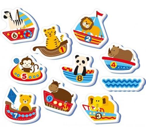 """Детскиймагазин в Кишиневе в Молдове nuby nv08006 Набор игрушек для купания """"Животные"""" (10 ед.)"""