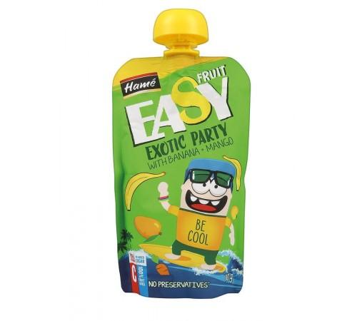 "hame puree ""easy fruit"" măr cu banane, mango, morcov 110g"