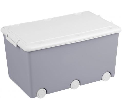 """tega baby Ящик для игрушек """"Сова"""" so-008-106 серый"""