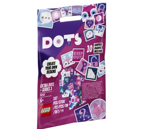 Детскиймагазин в Кишиневе в Молдове lego dots 41921 Дополнительные элементы dots 3 (107 дет.)