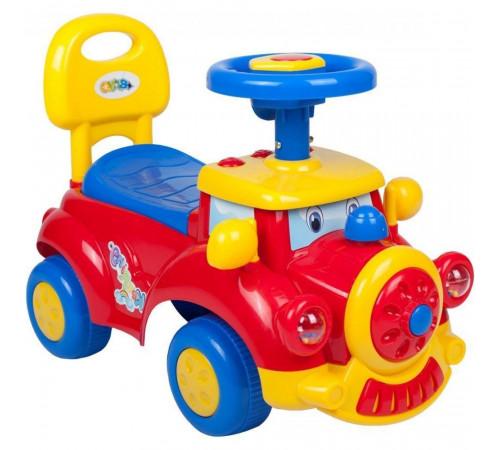 """bayo 33747 Детская машинка """"Поезд"""" красный"""