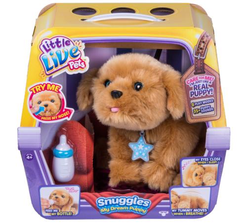 "Детскиймагазин в Кишиневе в Молдове little live pets 28185 Игрушка my dream puppy snuggles ""Ласковый щенок"""