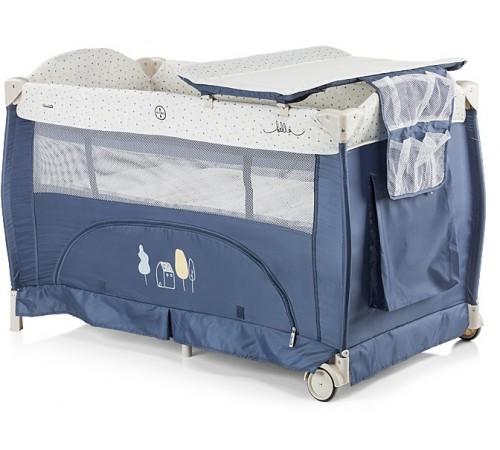 chipolino Манеж-кровать bella kosib0181bi синий