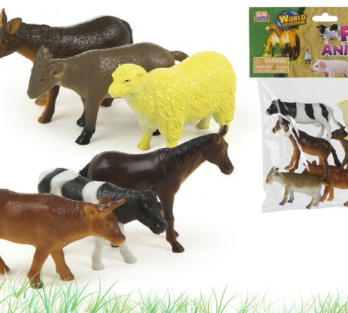 """Детскиймагазин в Кишиневе в Молдове color baby 24357 Набор-Животные Фермы """"kidz corner"""" 6шт"""