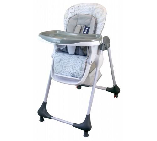 baby mix ur-yq-188 l.grey Стульчик для кормления