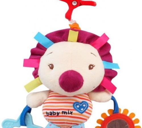 """baby mix tk/p/1131-0500  Игрушка для путешествия """"Ежик"""""""
