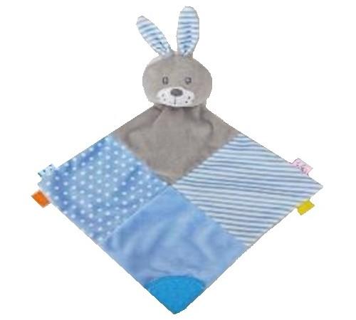 """baby mix stk-19421 br jucarie de plus """"iepuras"""" albastru"""