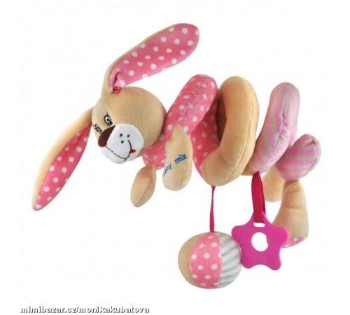Детскиймагазин гусь-гусь в Кишиневе в Молдове baby mix  stk-17507p Игрушка плюш зайчик роз