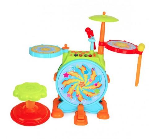 Детскиймагазин в Кишиневе в Молдове hola toys 3130 Барабанная установка