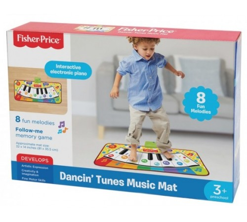 "fisher-price 380025 covor de pian muzical ""melodii de dans"""