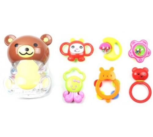 """Jucării pentru Copii - Magazin Online de Jucării ieftine in Chisinau Baby-Boom in Moldova op МЛЕ1.179  set de zornaitori """"ursul"""""""